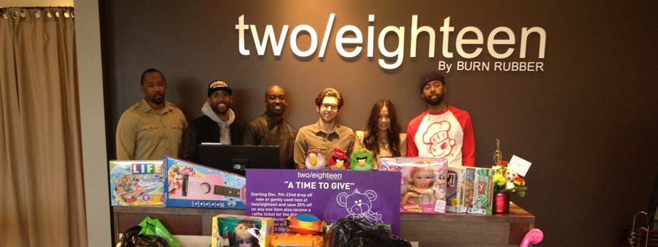 two-eighteen-Toy-Drive